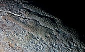 Pluto's surface,New Horizons image