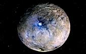 Ceres,satellite image