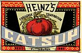 Heinz ketchup,1883