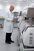 Immunology testing in pathology lab