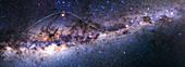 Southern Milky Way,The Emu