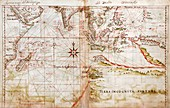Indian Ocean,1630 Portuguese atlas