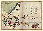 East Indies,17th century