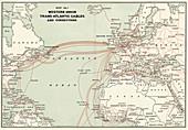 Western Union transatlantic cables,1900