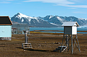 Arctic weather station,Svalbard