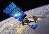 Jason-3 satellite,illustration