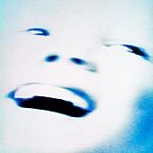 Joyful face,abstract image