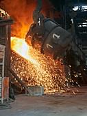 Converter steelmaking