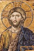 Jesus Christ mozaic Hagia Sofia mosque