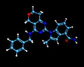 CB-5083 experimental drug molecule
