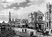 Adelaide,Australia,19th C illustration
