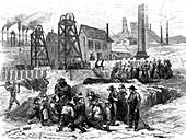 19th Century mining disaster