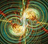 Gravitational waves,artwork