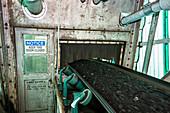 Coal-fired power station conveyor