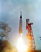 Launch of Mercury-Atlas 7,1962