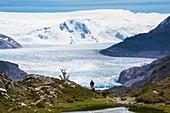 Gray glacier,Patagonia,Chile