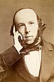 1860 H. Spencer Philosopher of Evolution