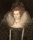 1570 Queen Elizabeth I of England and Ire