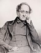 1852 Portrait Henry De La Beche geologist