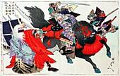 1561 Samurai Battle of Kawanakajima