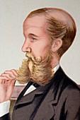 1878 Sir John Lubbock portrait cartoon