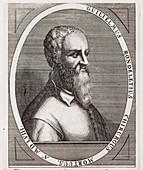 1566 Guillame Rondelet Portrait naturalis