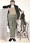 1782 Patrick O'Brian the irish giant