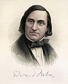 1815 Edward Forbes color portrait geology