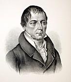1840 Christian Leopold Von Buch Portrait