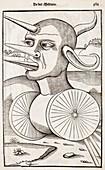 1532 A medieval war machine Vegetalius