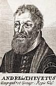 1570 Andre Thevet explorer Naturalist