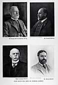 1905 four surviving sons charles darwin