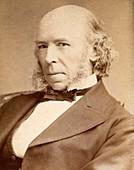 1880 H. Spencer Philosopher evolution