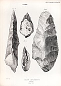 1860 Flint handaxe from Prestwich article