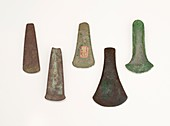 The celt flat axe copper to bronze age