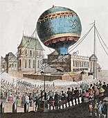 1783 Montgolfier First ascent Balloon