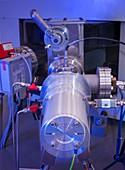 Radiocarbon AMS detector