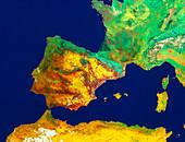 Iberian peninsula and Western Mediterranean