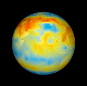 Carbon dioxide levels,Asia,2003