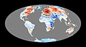 Mild winter in Northern Hemisphere,2006