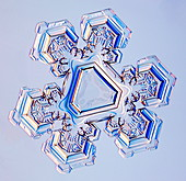 Triangular snowflake