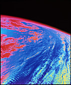 Tropical storm Xina from space
