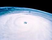 Typhoon Yuri seen from STS-44