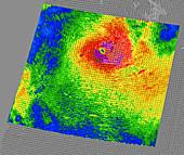 Tropical Cyclone Dora,wind speed data