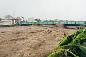 Hurricane Dean flash flood