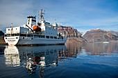 Tourist ship,Flower Bay,Greenland
