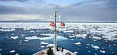 Tourist boat,Greenland