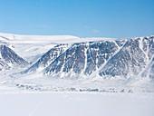 Grise Fiord Inuit village,Nunavut