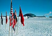 US Amundsen-Scott base at South pole