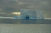 Tabular berg,Antarctica